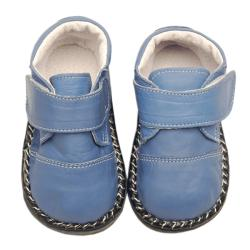 Papush Blue Infant Walking Shoes