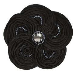 Cuff Luv Black Swirl Magnetic Magic Pin