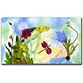 Kathie McCurdy 'Dragonfly Dream' Canvas Art