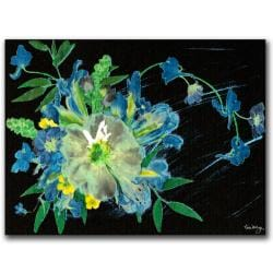 Kathie McCurdy 'Meteor Shower' Gallery-wrapped Canvas Art