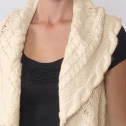 Ci Sono by Adi Juniors Sweater Shrug