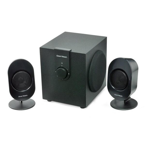 Gear Head SP3500ACB 2.1 Speaker System - 12 W RMS