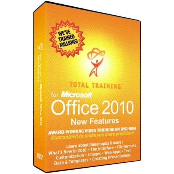 Total Training for MS Office 2010 Getting Up to Speed, New Features