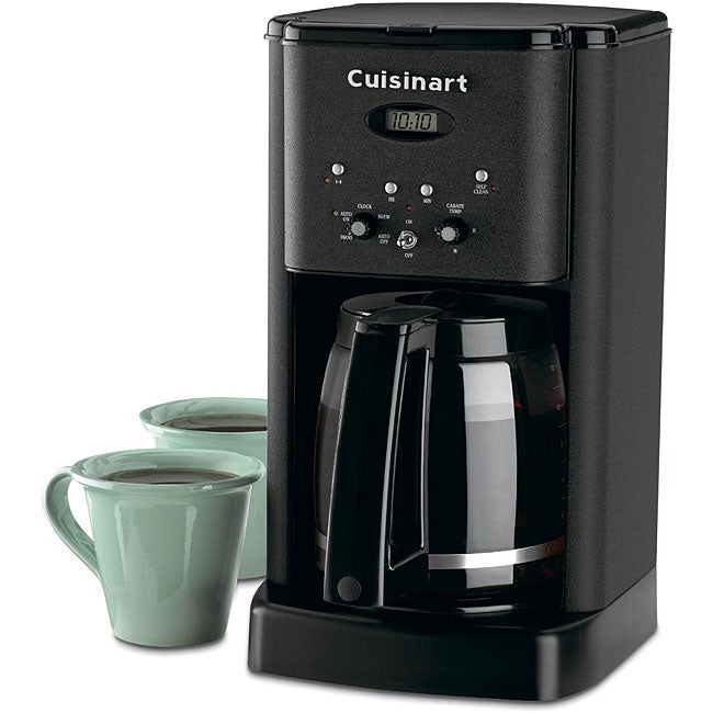Old Cuisinart Coffee Maker : Cuisinart DCC-1200BW Brew Central 12-cup Programmable Matte Black Coffeemaker - 13013193 ...