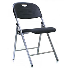 Ergo Light Weight Fabric Folding Chair (Pack of 4)
