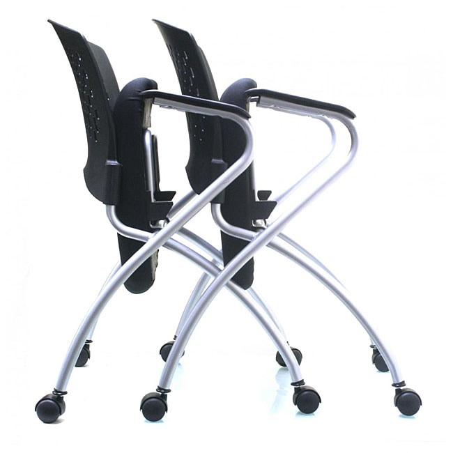 Ergo Flip Seat Folding Chair Pack of 2