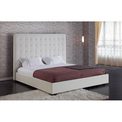 Delano White King Platform Bed