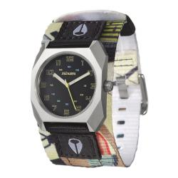 Nixon Men's 'The Scout' Stainless Steel and Fabric Quartz Watch
