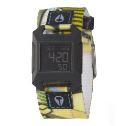 Nixon Women's 'The Fidelity' Polycarbonate Strap Digital Quartz Watch