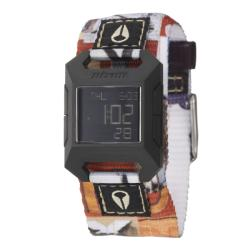 Nixon Women's 'The Fidelity' Polycarbonate Digital Quartz Watch
