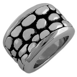 Fremada Sterling Silver Electroform Ring