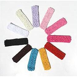 Crochet Fancy Rhinestone Daisy Headband