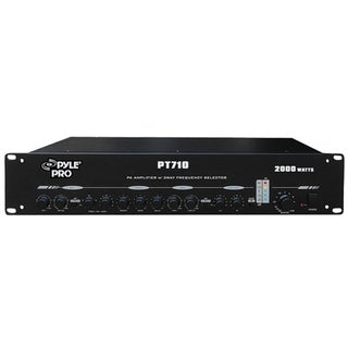 PylePro PT710 Amplifier - 2000 W RMS - 2 Channel