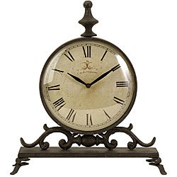 Handcrafted Provence Cafe Siroque Table Clock