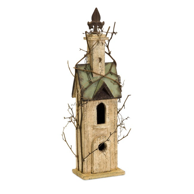 Handcrafted Americana Chateau Birdhouse
