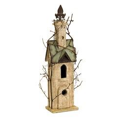 Handcrafted Americana Chateau Birdhouse
