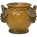 Handcrafted Argento Ceramic Vineyard Planter