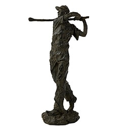 Handcrafted Argento Long Drive Golfer Figurine