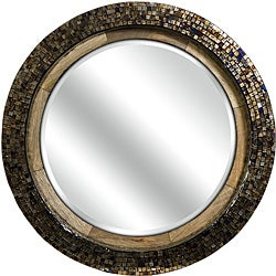 Mango Wood Old Spanish Mission Hacienda Mosaic Mirror
