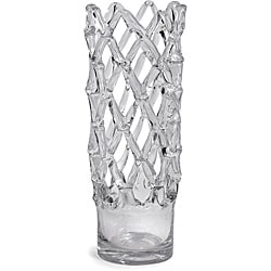 Regent Glass Bamboo Candle Holder