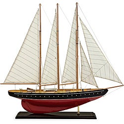 Regent Large Red Shark Sailboat