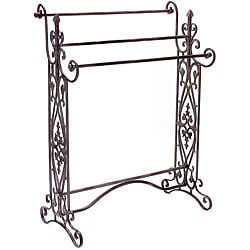 Iron Corazon Quilt/ Towel Rack