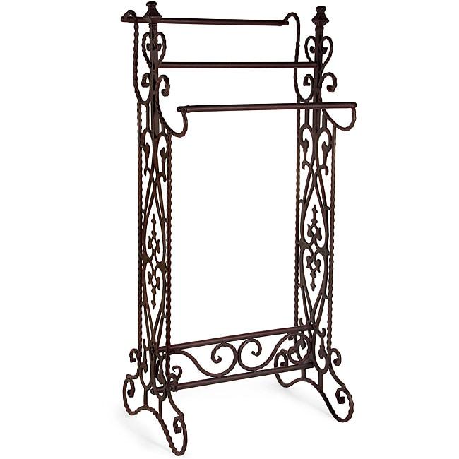 Iron Small Corazon Quilt Rack