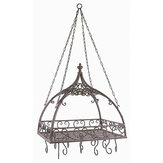 Provence Pot Rack with Hooks