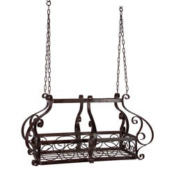 Provence Iron Pot Rack