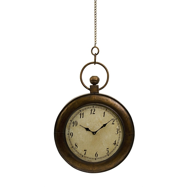 Regent Pocket Watch-style Wall Clock