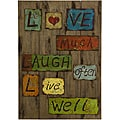 Wood Americana Grandpa's Words of Wisdom Wall Display