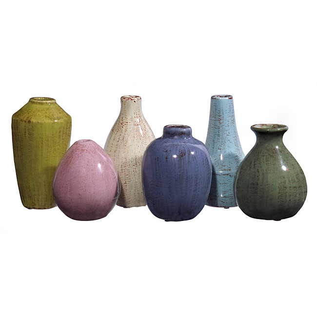 Set of 6 Argento Magic Potion Vases