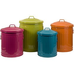 Set of 4 Americana Sunny Day Storage Containers