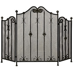 Handcrafted Regent Metal Henry VI Fireplace Screen
