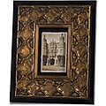 Wood Golden Lattice 4x6-inch Picture Frame