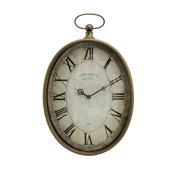 Handcrafted Provence Chateau Wall Clock