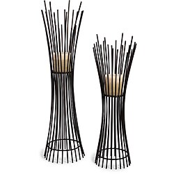 Old Spanish Mission Two Willow Branch Candle Holders