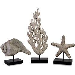 Set of 3 Regent Sea Life Series Statuary