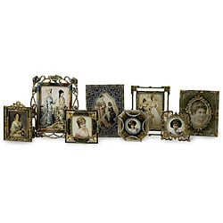 Set of 8 Victorian Crowne Jewel Vintage Frames