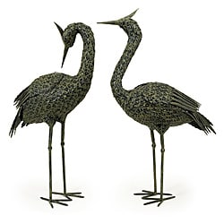 Set of 2 Infinity Metal Wetland Birds