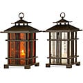 Set of 2 Iron Regent Teahouse Lanterns