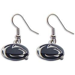 Penn State Nittany Lions Dangle Logo Earrings