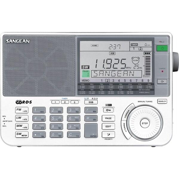 Sangean FM-RDS (RBDS) / MW / LW / SW PLL Synthesized Receiver