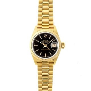 Pre-owned Rolex 'President' Gold Watch