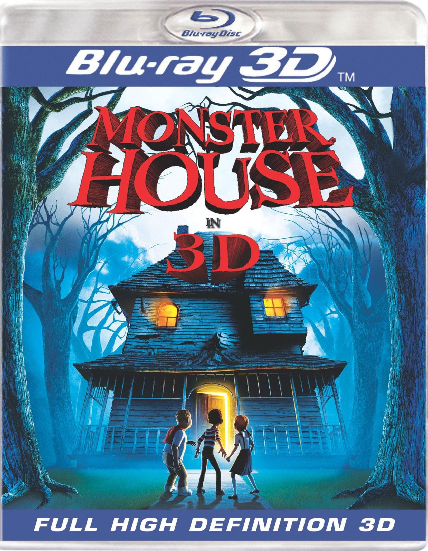 Monster House 3D (Blu-ray Disc)