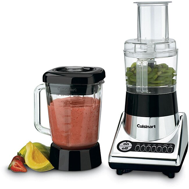 Cuisinart BFP-10CH Chrome PowerBlend Duet Blender and Food Processor (Refurbished)