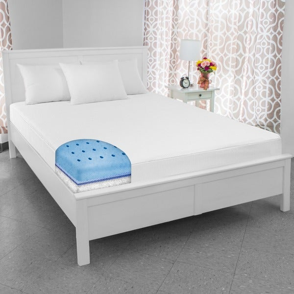 SwissLux 8-inch Full-size European-style Memory Foam Mattress (As Is Item)