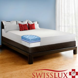 Swiss Lux 8-inch Queen-size European-style Memory Foam Mattress