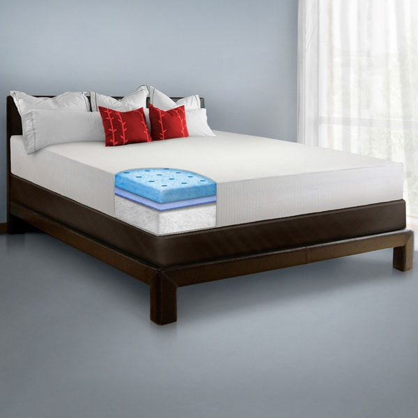 SwissLux 8-inch California King-size European-style Memory Foam Mattress