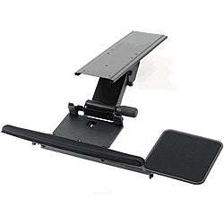 Cotytech Black Fully Adjustable Ergonomic Keyboard Mouse Tray